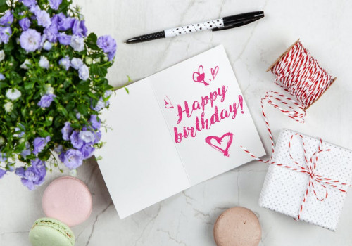 Hoe vind je een leuk verjaardagscadeau?