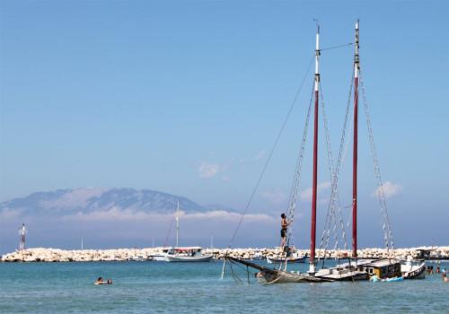 Hoe ver zijn de Griekse eilanden vliegen